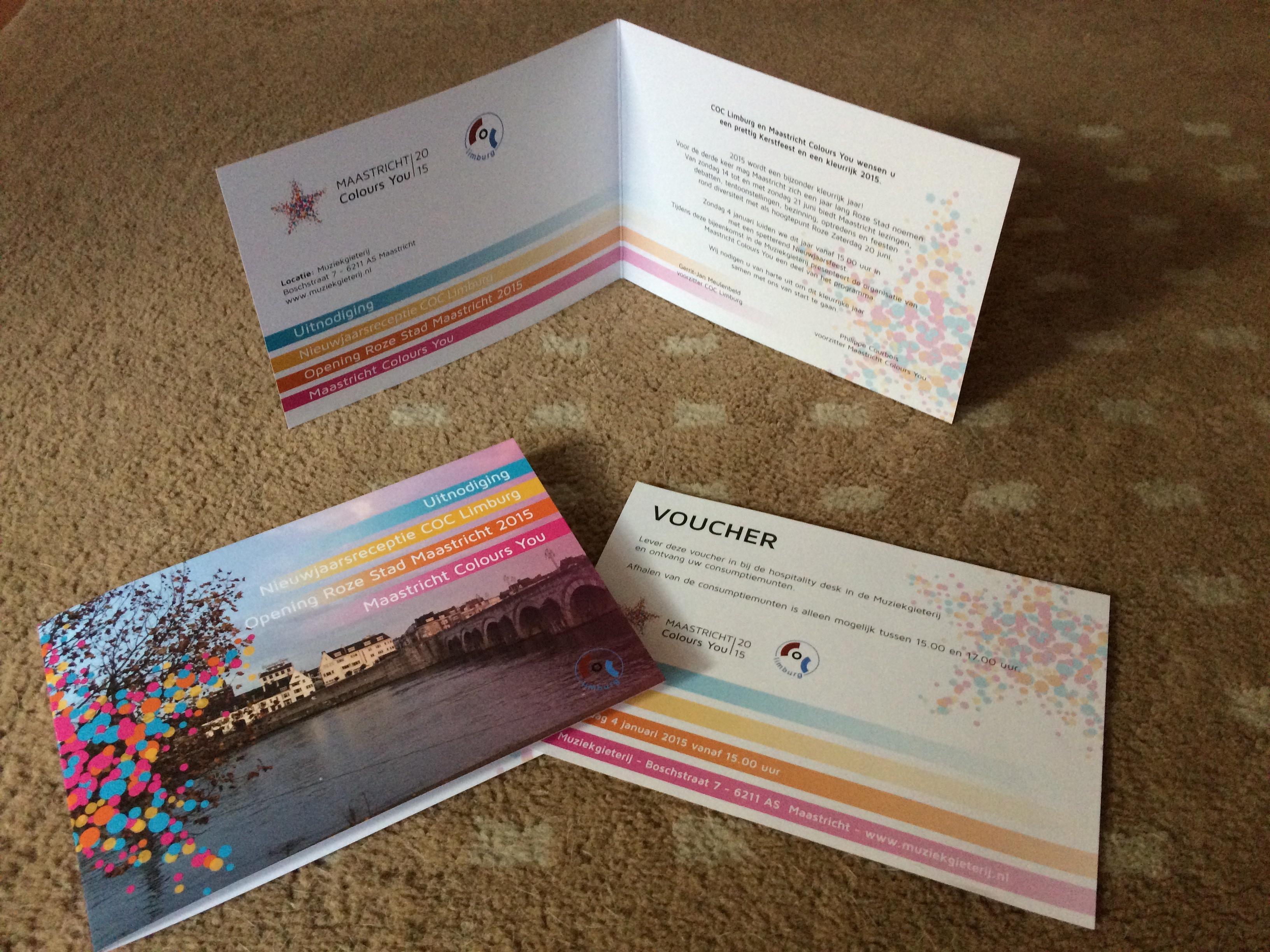 Uitnodiging Opening Roze Stad Maastricht 2015