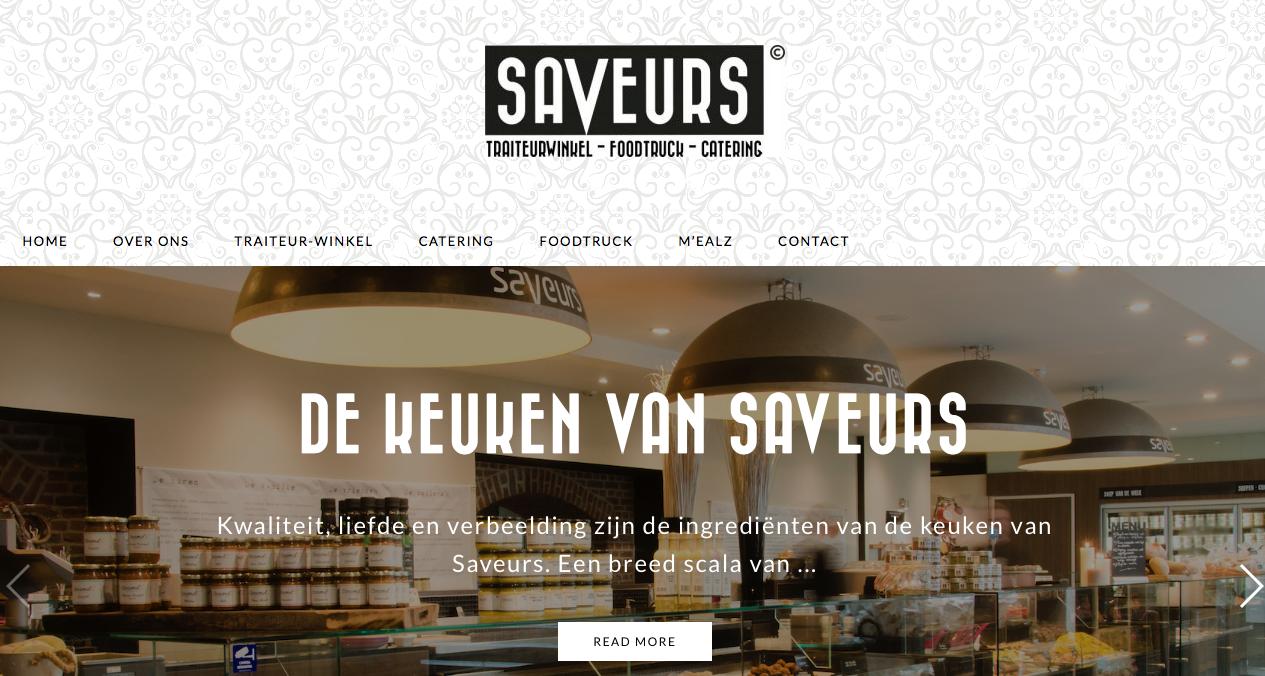Website Saveurs.nl